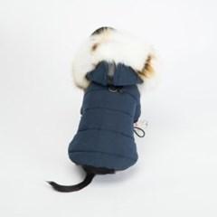 [러브핫핏] 퀼팅 솜패딩(네이비/아이보리퍼)