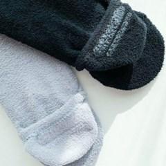 면 발목양말 검정 회색 수면덧신 데일리 패션 양말
