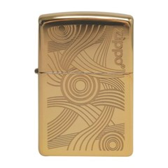 ZIPPO 라이터 49427 High Polish Brass Lustre_(2691149)