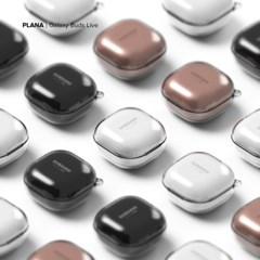 PLANA 슈퍼 클리어 갤럭시 버즈 라이브 / 프로 하드 투명 케이스
