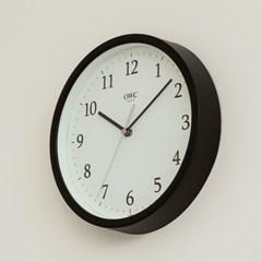 오리엔트 OTM899B 무소음 베이직 모던 인테리어벽시계' 블랙