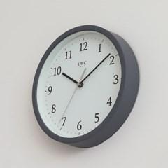 오리엔트 OTM899G 무소음 베이직 모던 인테리어벽시계 그레이