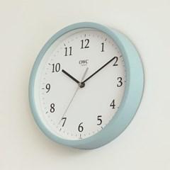 오리엔트 OTM899M 무소음 베이직 모던 인테리어벽시계' 민트