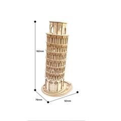 TG304 피사의 사탑 D.I.Y wooden [영문판]