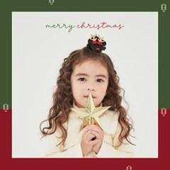 채니봉봉 미키미니 크리스마스 집게핀 유아헤어핀