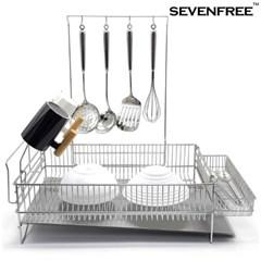 세븐프리 올스텐 식기건조대 그릇정리대 설거지 싱크대선반