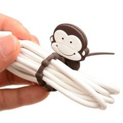 플라이토 실리콘 원숭이 케이블타이 선정리 2P
