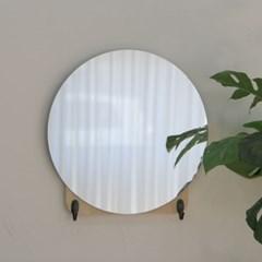 원형 후크 벽거울