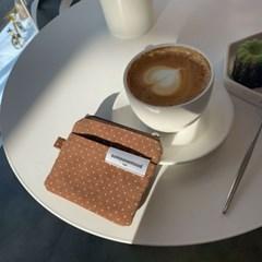brownie card wallet (dot)