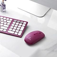 만렙 BM101 무선 블루투스 마우스 태블릿 노트북 멀티페어링