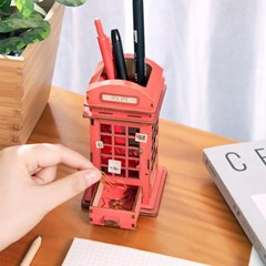 TG13 전화부스 다용도함 D.I.Y [DIY DESK ORGANIZER] [영문판]