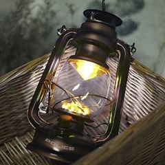 휴대용 엔틱 건전지 감성 캠핑등 LED 조명 램프