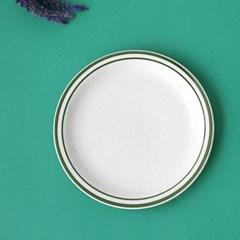 미쿡의아침밥 클래식 원형접시(대)(그린)