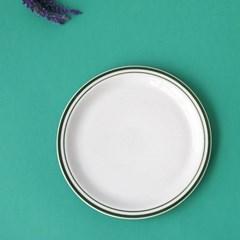 미쿡의아침밥 클래식 원형접시(중)(그린)