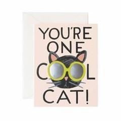 Cool Cat Card 사랑 카드