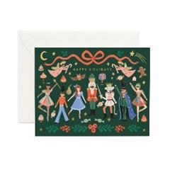 Nutcracker Ballet Card 크리스마스 카드