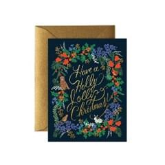 Holly Jolly Christmas Card 크리스마스 카드