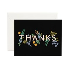 [Rifle Paper Co.] Posey Thank You Card 감사 카드_(410650)