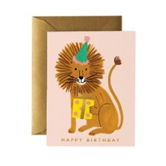 Lion Birthday Card 생일 카드