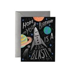 Birthday Blast Card 생일 카드
