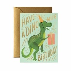 Dino-mite Birthday Card 생일 카드