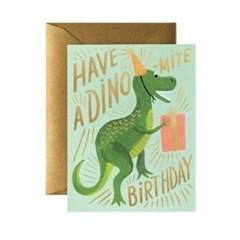 Dino-mite Birthday Card 생일 카드