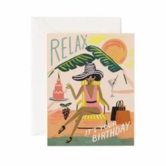 Relax Birthday Card 생일 카드