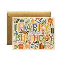 Fiesta Birthday Card 생일 카드