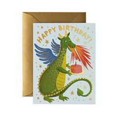Birthday Dragon Card 생일 카드