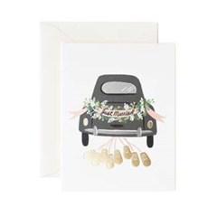 Just Married Getaway Card 웨딩 카드