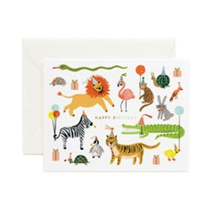 Party Animals Card 생일 카드