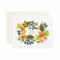 Happy Birthday Bouquet Card 생일 카드