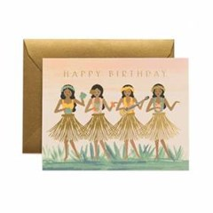 Hula Birthday Card 생일 카드