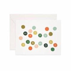 Birthday Dots Card 생일 카드