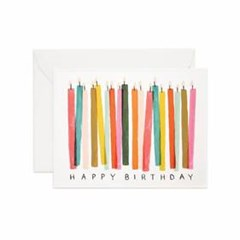 Birthday Candles Card 생일 카드