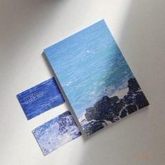 [파로상점] 바다 떡메모지