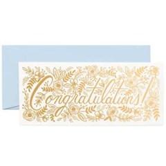 [Rifle Paper Co.] Champagne Floral Congrats No.10 Ca_(411309)