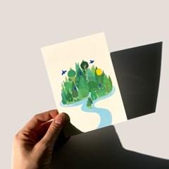 엽서_나의 작은 숲 Postcard_My Little Forest