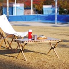 제이픽스 캄푸스 애쉬 우드 롤 접이식 캠핑 테이블 - 대