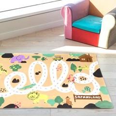 [플루토나인] 사파리 아이방러그 놀이매트 플레이매트
