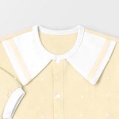 [메르베] 심플마린 신생아 실내우주복/북유럽아기옷_사_(1570238)
