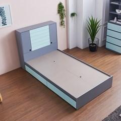 [세컨드컨테이너] 하이덴 서랍형 침대(SS)
