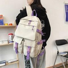 [OH-AP] 학생 가방 커버 투포켓 백팩