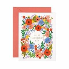 Valentines Day Bouquet Card 발렌타인 카드