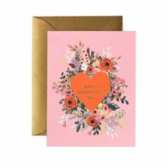 Blooming Heart Valentine Card 발렌타인 카드