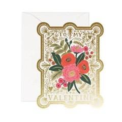 Vintage Valentine Card 발렌타인 카드