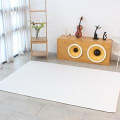 베이메이트 유아 아기 PVC거실매트 클래시 그레이 210x140cm 14t