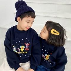 세) [디즈니정품]위니더푸 아동 기모맨투맨-주니어까지