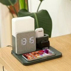 애플워치 에어팟 아이폰 올인원 고속무선 충전기 UM-AL3in1
