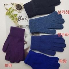 울 무지 기본 베이지 블랙 학생 데일리 패션 장갑